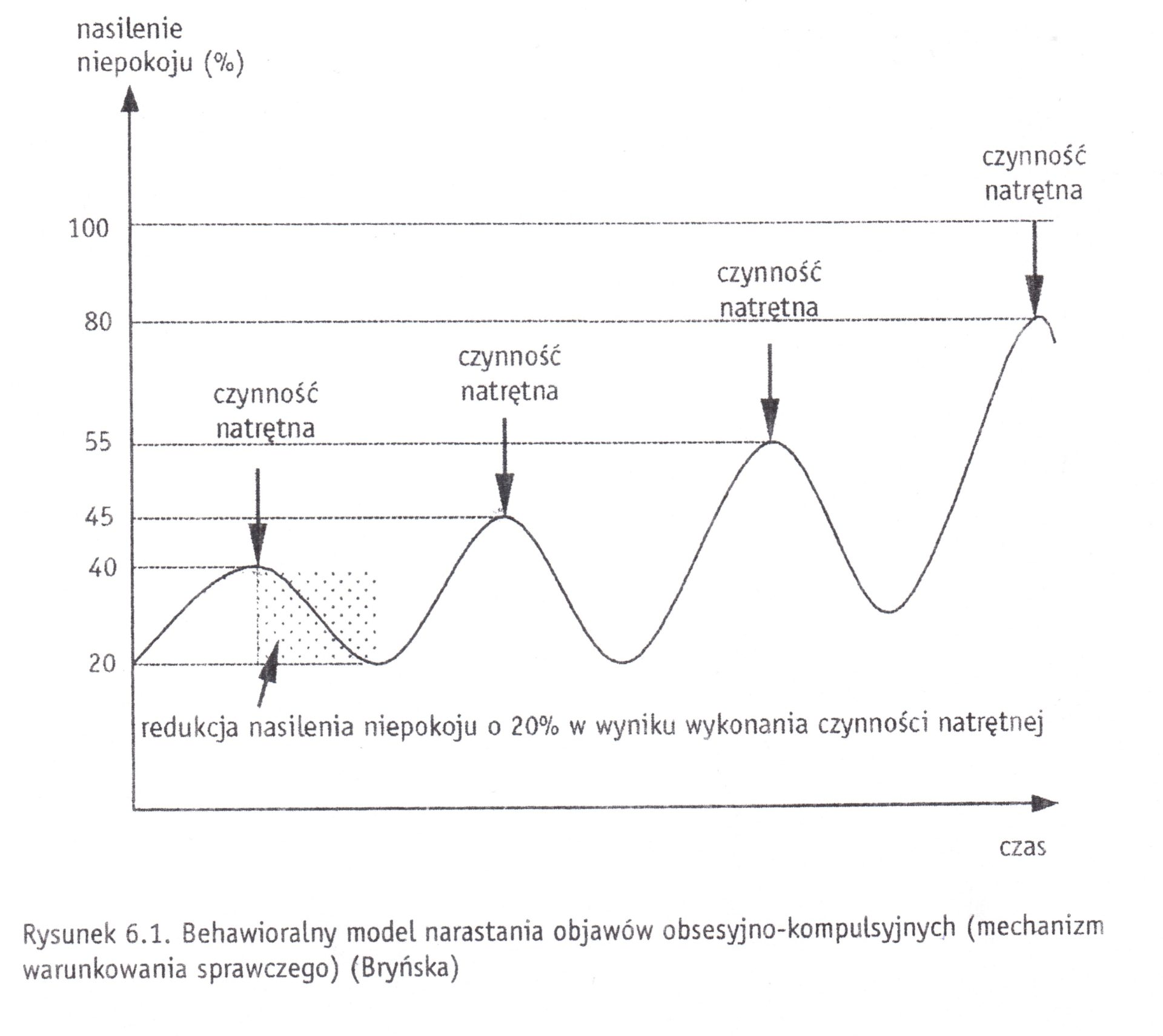 Behawioralny model narastania objawów zaburzenia obsesyjno-kompulsyjnego